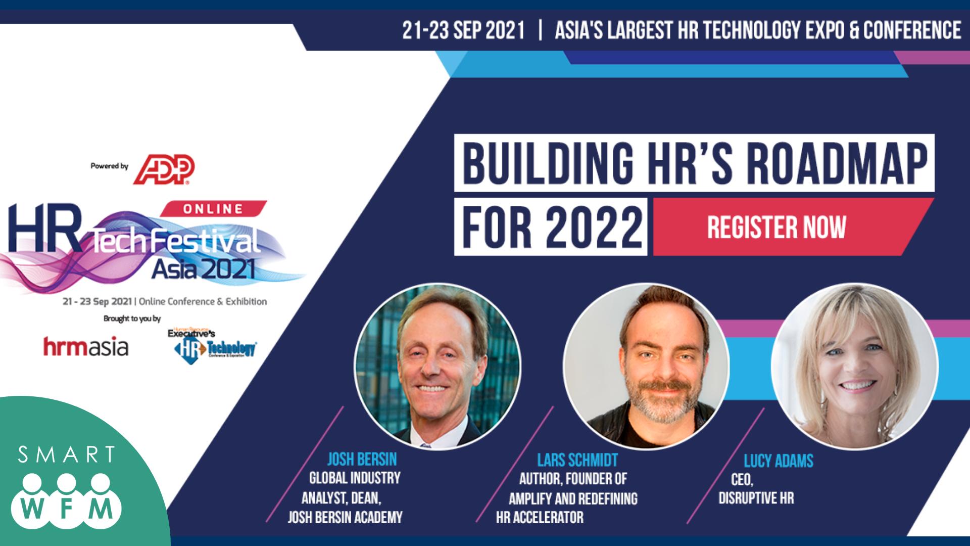 HR Tech Festival Asia Online 2021 x Smart WFM